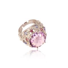 chateau紫水晶戒指