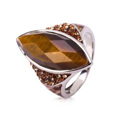 sigal动物纹水晶戒指 货号111770