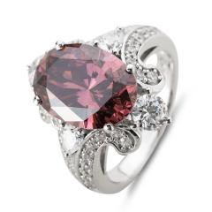 HB绚丽系列美戒之茶紫戒指