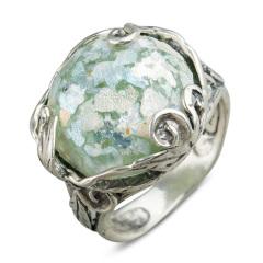 Zuman玻璃圆形戒指  货号114451