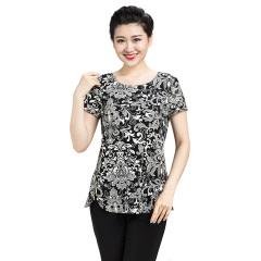 N.L女式针织侧拉链短袖衫  货号117199