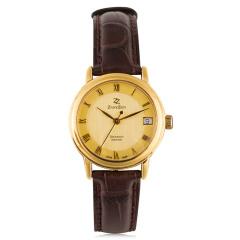 臻时力瑞士原装进口真金女腕表