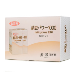 日本金吉酶纳豆片套组 货号121489