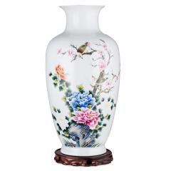 花开富贵玲珑瓷 货号121770