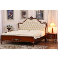 富阁欧式奢华实木卧室系列套组 货号121946