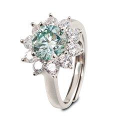罗夏博士蓝色传说莫桑石戒指