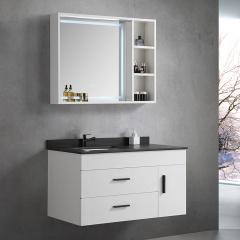 百芬尼不锈钢智能浴室柜