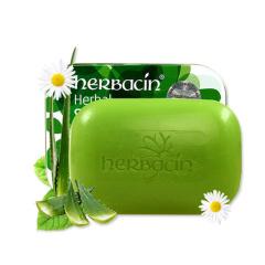 德国进口Herbacin贺本清 小甘菊天然芦荟洁肤皂控油补水