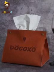 稻草熊皮质纸巾盒