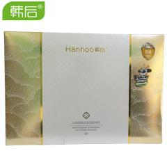 韩后 水润修颜植萃限量特惠装气垫cc霜礼盒 含替换装和卸妆油 C21亮肤型