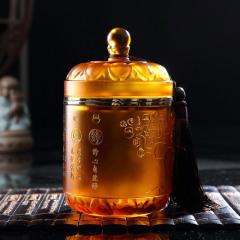 【雁羽黄金宝】瓯叶黄茶 东方智慧琉璃 温州黄汤 特级平阳黄汤茶叶 礼盒100g