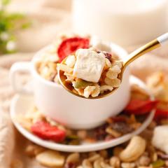 【年终大促】味滋源3种益生菌烘焙3种坚果5种水果混合燕麦片500g/袋*2袋即食早餐速食麦片代餐饱腹