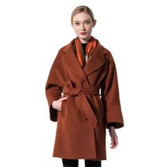 DS 时尚雅多莉羊毛大衣