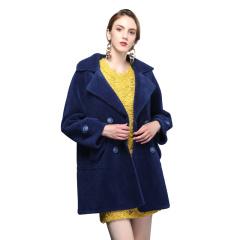 法国恺瑞气质显瘦羊毛大衣