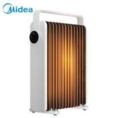 美的Midea取暖器油汀电暖器气家用客厅卧室13片电暖气防烫电热油丁暖风机节能省电 升级新品