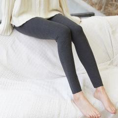 阳离子打底裤外穿韩版双面阳离子德绒大码裤子女纯色加肥小脚裤
