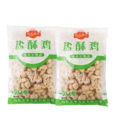 【两袋量贩装美食】乐品美华 原味盐酥鸡 1kg*2袋 (鸡米花 半成品食材)
