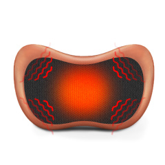 璐瑶肩颈椎按摩器颈部腰部肩部全身车载电动仪枕头多功能家用靠垫