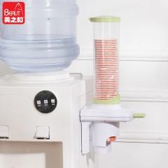 美之扣 01050039 可调节自动取杯器 一次性纸杯塑料杯水杯架 饮水机配件