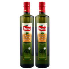 西班牙原装进口欧蕾特级初榨橄榄油750ml两瓶装