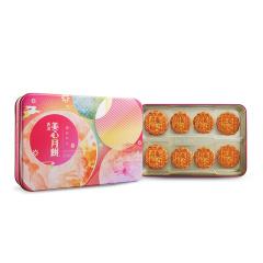 中国香港 美心(Meixin) 金装彩月月饼礼盒420g 港式中秋月饼礼盒