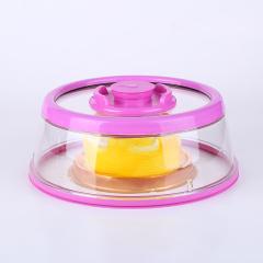 美之扣 塑料菜罩食物罩 防尘盖 碗盘罩 微波炉盖子 冰箱保鲜盖 进口材质 保鲜盒