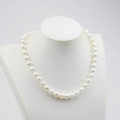 贝宝珠项链白色套装