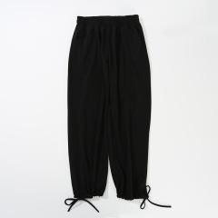 灯笼裤女宽松韩版雪纺奶奶裤黑色裤子夏季束脚高腰阔腿休闲哈伦裤
