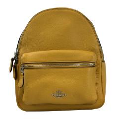 COACH/蔻驰 女士CHARLIE MINI 双肩包 F38263 黄色