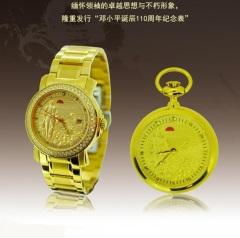 卓派邓小平诞辰110周年纪念对表一怀一腕表