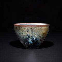 中艺盛嘉建阳建盏油滴茶杯纯手工礼盒装送礼品茗杯单杯