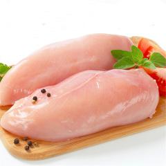原野珍食内蒙古正宗土鸡冻新鲜鸡胸肉750g