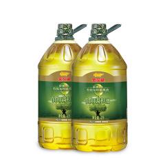 金龙鱼 添加10%特级初榨橄榄油食用植物调和油4L*2