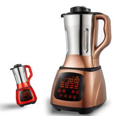 欧博(OPO)1803B 破壁料理机不锈钢多功能家用榨汁机原汁机豆浆机 破壁机咖啡色