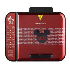 迪士尼(Disney)电饼铛DSN-BC01   红色 双面悬浮加热