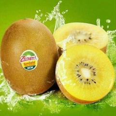 【进口水果】 新西兰进口黄心奇异果(佳沛金果)10粒装(单果110-120g)