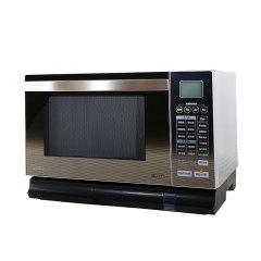 美的微波炉家用X5-251C变频光波烤箱小型微蒸烤一体机全自动 25升 黑色