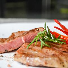 【新鲜食材】鲜元道澳洲进口原肉整切浸腌牛排 眼肉牛排礼盒1000g