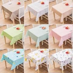 北欧家用桌布PVC免烫茶几盖布ins风蕾丝餐桌台布防水防油布艺桌垫