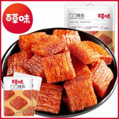 【百草味】刀刀辣条(调味面制品)280g*4包装