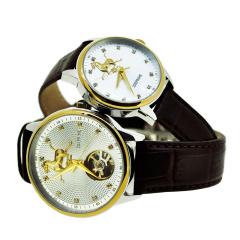 卓派ZOEPRIME马踏飞燕经典情侣对表手表