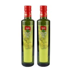 西班牙原装进口欧蕾一级葡萄籽油500ml两瓶装