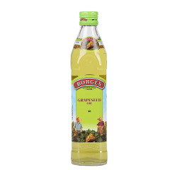 西班牙原装进口伯爵葡萄籽油500ml 食用油瓶装 含花青素