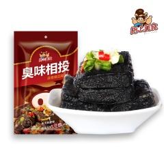 指上美食蒜香臭豆腐125g油炸豆腐干湖南特产长沙风味小吃独立小包装