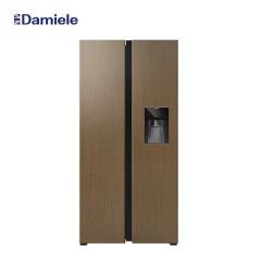 达米尼612升水吧木纹橱柜冰箱