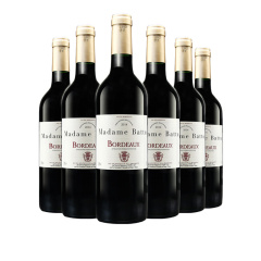 法国原瓶进口 巴图太太波尔多AOC级干红葡萄酒750ml*6瓶