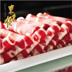 东来顺 鲜美肥牛片 火锅食材牛肉卷300g*2 内蒙古新鲜清真牛肉片