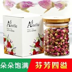Amelie玫瑰花茶 平阴玫瑰花茶 50g/罐