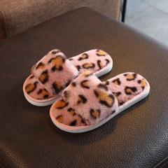 儿童棉拖鞋男女宝宝卡通可爱保暖防滑冬天室内亲子鞋中大童韩版鞋