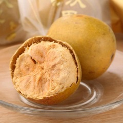 广西桂林冻干罗汉果特产散装新鲜浓甜黄金罗汉果
